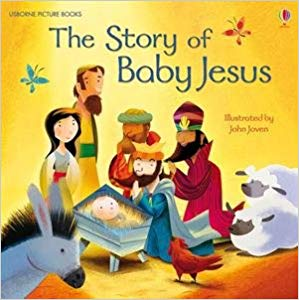 Usborne Picture Books The Story of Baby Jesus