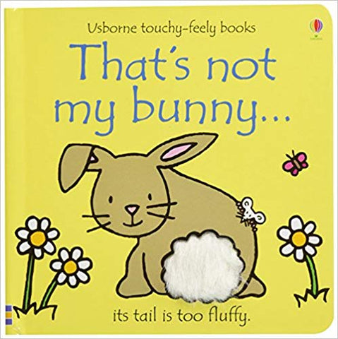 Usborne Touchy-Feely Books That's Not My Bunny