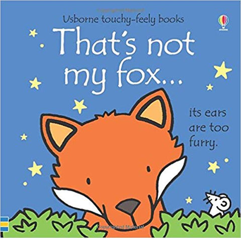 Usborne Touchy-Feely Books That's Not My Fox