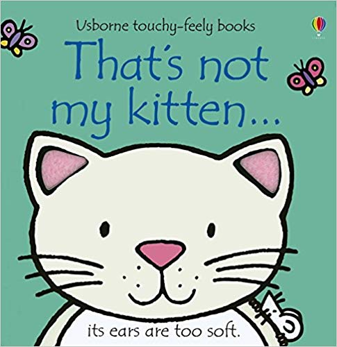 Usborne Touchy-Feely Books That's Not My Kitten
