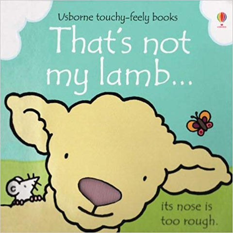 Usborne Touchy-Feely Books That's Not My Lamb