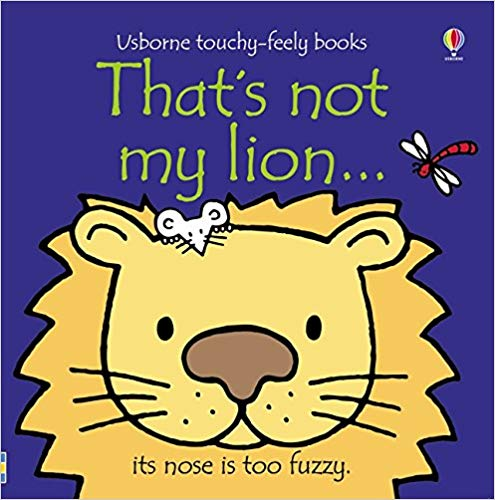 Usborne Touchy-Feely Books That's Not My Lion
