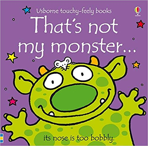 Usborne Touchy-Feely Books That's Not My Monster
