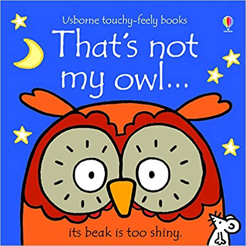 Usborne Touchy-Feely Books That's Not My Owl