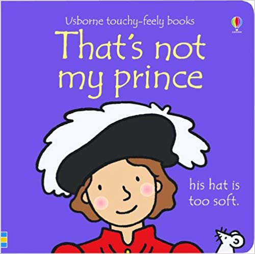 Usborne Touchy-Feely Books That's Not My Prince