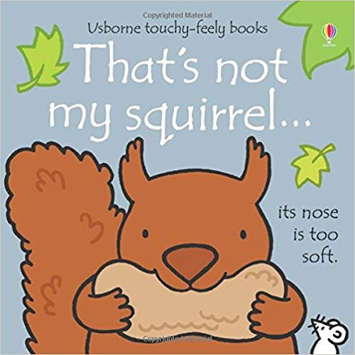 Usborne Touchy-Feely Books That's Not My Squirrel