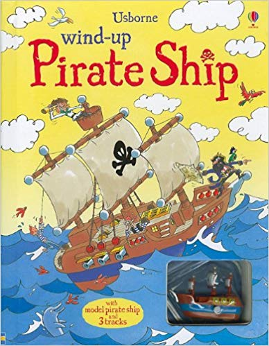 Usborne Wind-Up Pirate Ship Book