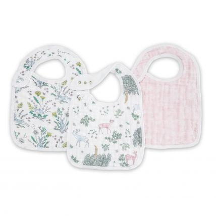 Aden & Anais Classic Snap Bib - Forest Fantasy