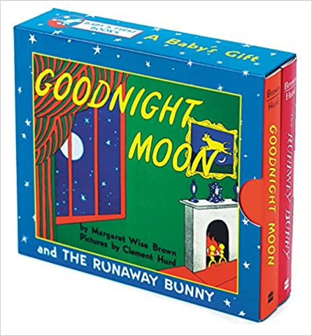 Harper Collins Boxed Book Set- Runaway Bunny & Goodnight Moon