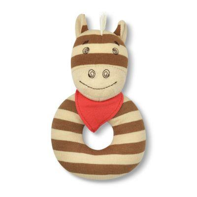 Apple Park Farm Buddies Organic Teething Rattles - Clyde the Pony
