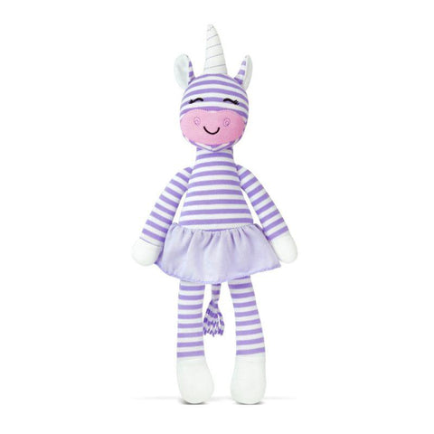 Apple Park Farm Buddies Organic Plush Toys - Cupcake the Unicorn