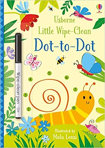 Usborne Little Wipe Clean Dot-to-Dot
