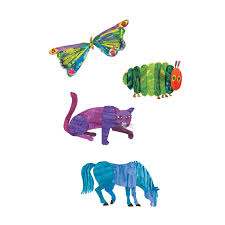 Mudpuppy Magnetic Playset - World of Eric Carle