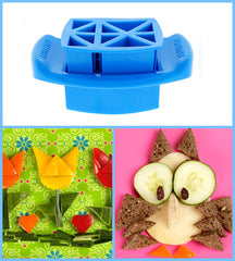 Funbites Food Cutters - Triangles - Blue - Baby's First Gifts - 8