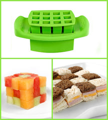 Funbites Food Cutters - Squares - Green - Baby's First Gifts - 5