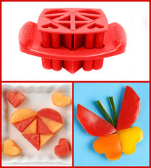 Funbites Food Cutters - Hearts - Red - Baby's First Gifts - 6