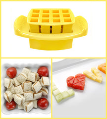 Funbites Food Cutters - Squares - Yellow - Baby's First Gifts - 7