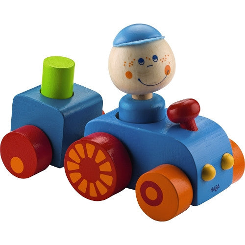 HABA Habatown Wooden Tractor - Baby's First Gifts