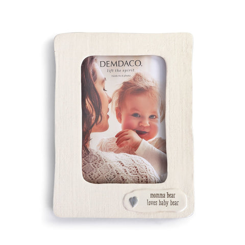 Nat & Jules Baby Bear - Momma Bear Loves Baby Bear Frame