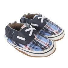 Robeez Soft Soles Conner Plaid