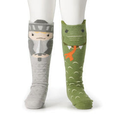 StoryTime Socks - Knight & Dragon - Baby's First Gifts - 12