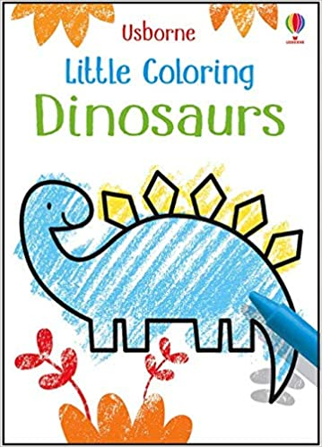 Usborne Little Coloring Dinosaurs
