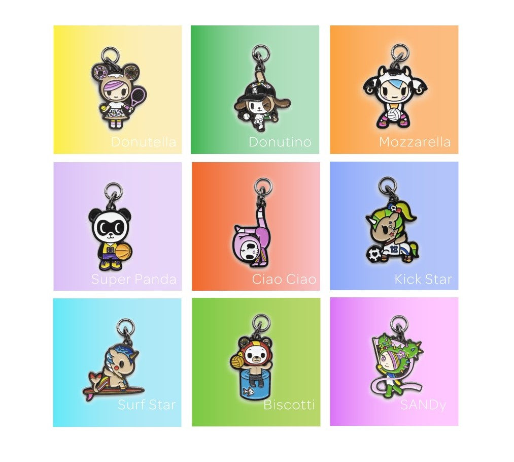 JuJuBe  Zipper Pull Blind Box - Team Toki