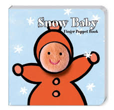 Chronicle Snow Baby Finger Puppet Book