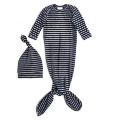 Aden + Anais Snuggle Knit Gown + Hat Gift Set