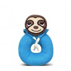 Apple Park Farm Buddies Organic Teething Rattles - Supersonic Sergio Sloth