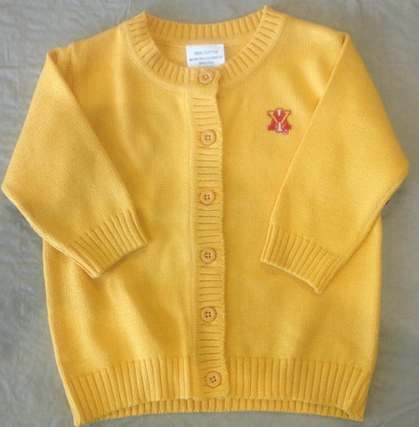 VMI Yellow Spider Knit Cardigan - Baby's First Gifts