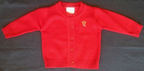 Creative Knitwear VMI Red Spider Knit Cardigan
