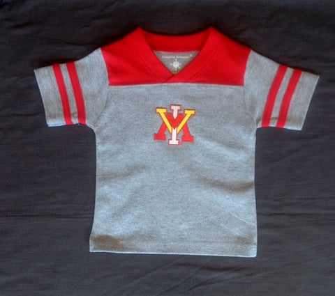 VMI Football T-shirt - Baby's First Gifts