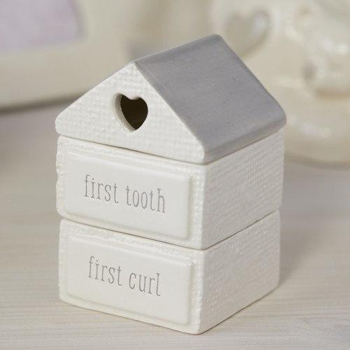 Nat & Jules Baby Bear - My First Tooth and Curl Box