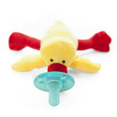 Wubbanub Pacifiers - Yellow/Orange Duck - Baby's First Gifts - 21