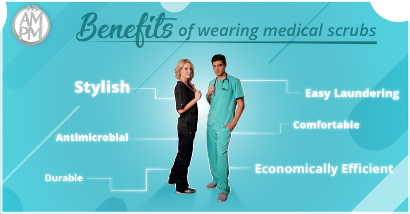 Major Benefits of Wearing Medical Scrubs