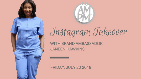 AMPM Medical Scrubs Brand Ambassador Janeen