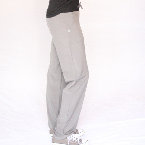 Capri Scrub Pants With Reflective Panel