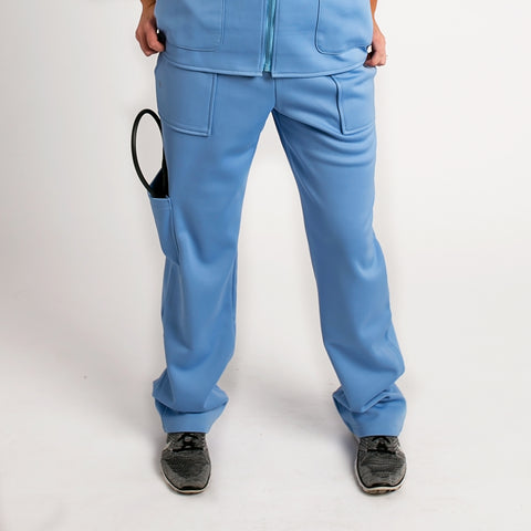 Surgical Green Fleece Lined Medical Pants