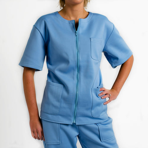 Women's Warm Up Scrub Top