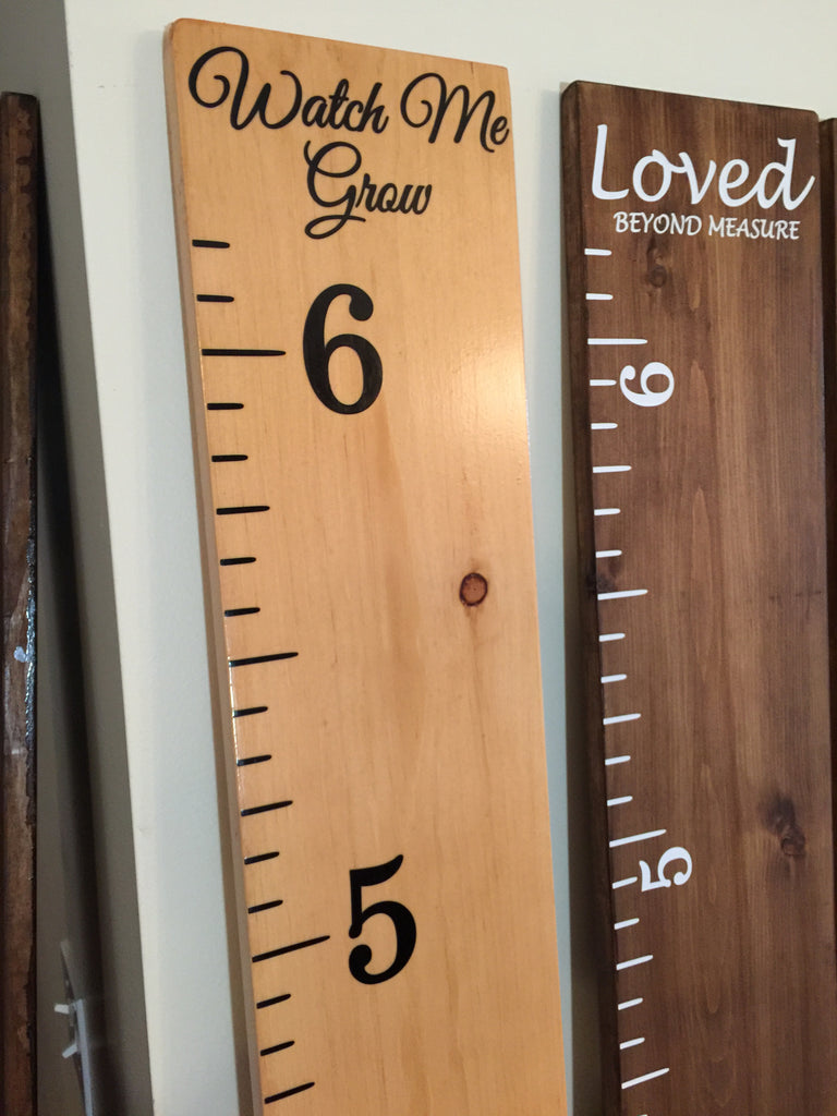 Growth chart classic oak black lettering family ruler growth chart classic oak black lettering geenschuldenfo Choice Image