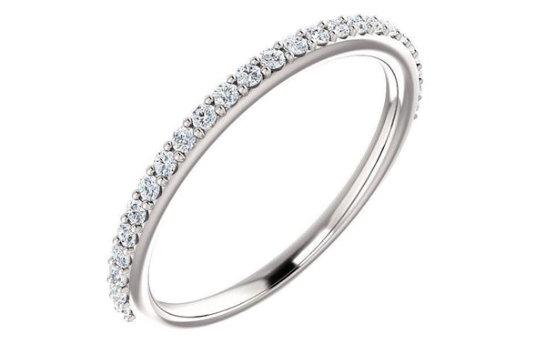 14KW Diamond Band 0.20ctw 122814-Farsi Jewelers
