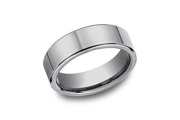 7.0MM PLAIN TUNGSTEN-Farsi Jewelers