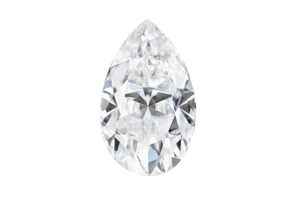 Forever One Moissanite Pear Shape-Farsi Jewelers