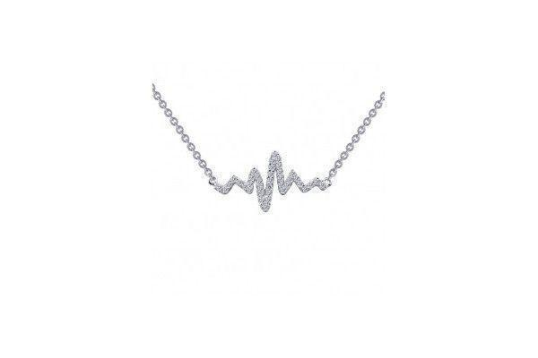 Heartbeat Necklace-Farsi Jewelers