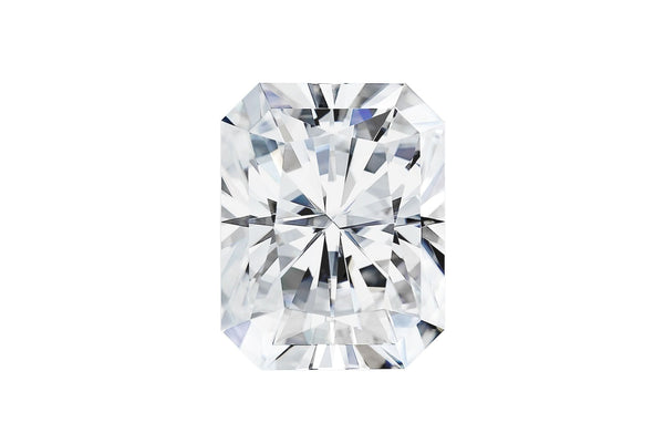Radiant cut Forever One Moissanite-Farsi Jewelers