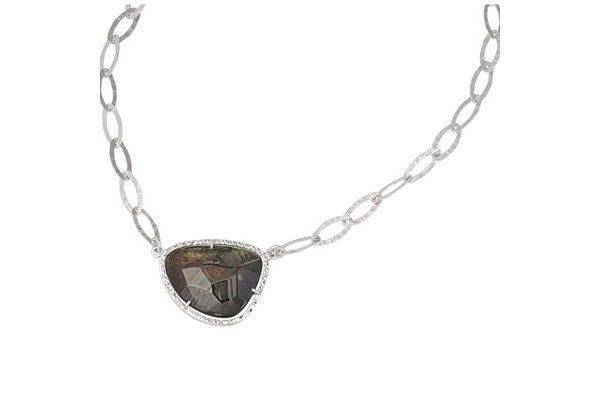 Sterling Silver Mother-Of-Pearl Necklace Frederic Duclos-Farsi Jewelers