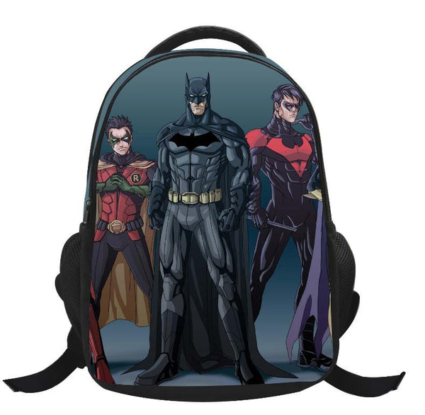 Kids Backpacks Cartoon Backpack Boys Batman Superman SchoolBags New Ch –  Exceptional Online Market aacd1bb152fe7