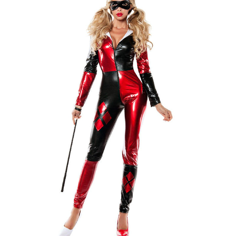 0dfeaa38dd3 harley quinn costume women adult batman sexy cosplay bodysuit catsuit party halloween  costumes for women supergirl