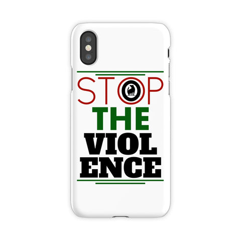 Stop The Violence Phone cover Accessories- Rowlhen, LLC